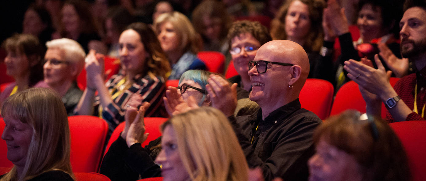 Delegates at Creative Connections at Town Hall Theatre Galway 2016. Photo: Reg Gordon