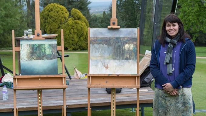 Sky Arts Landscape Artist of the Year 2015 Nerine Tassie