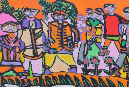 Visual Art: Inspirational Colours at Riverbank Arts Centre