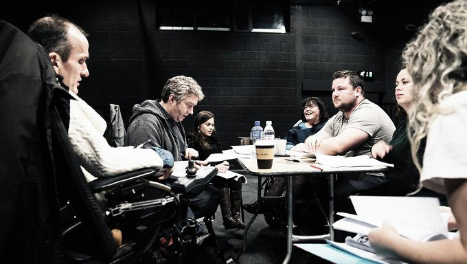 In rehearsals for Mainstream, Project Arts Centre, 2016