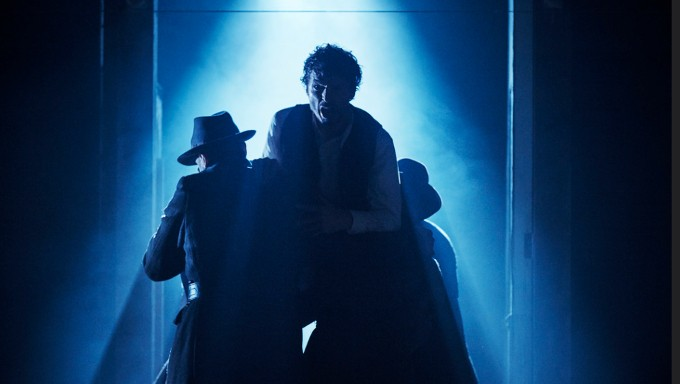 Richard Clements as Jimmy in the Abbey Theatre's adaptation of Jimmy's Hall.