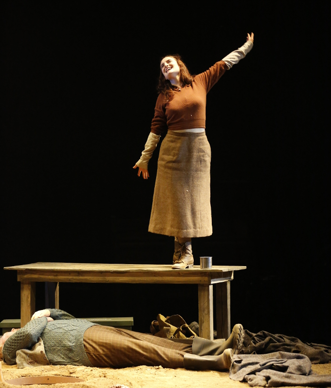 Maeve O'Mahony in Sugarglass Theatre's Outlying Islands