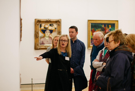 Visual Art: National Gallery of Ireland tours for the hard of hearing