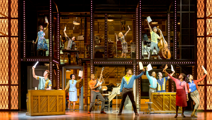 Beautiful - The Carole King Musical. Photo by Birgit & Ralf Brinkhoff