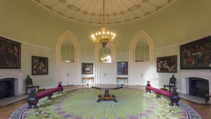 The Gothic Room, Dublin Castle. Photo credit: Mark Reddy Trinity Digital Studios.