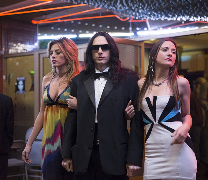 James Franco with Eliza Coupe and Zoey Deutch in The Disaster Artist (2017)