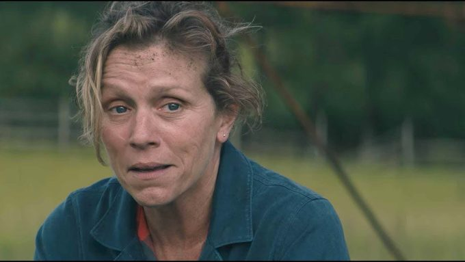 Frances McDormand as Mildred in Three Billboards Outside Ebbing, Missouri