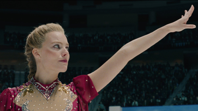 "Margot Robbie plays the figure skater Tonya Harding in ""I, Tonya."" Credit Neon"