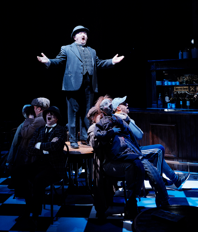 Photo from Abbey Theatre production of Ulysses.  Photo copyright Ros Kavanagh.