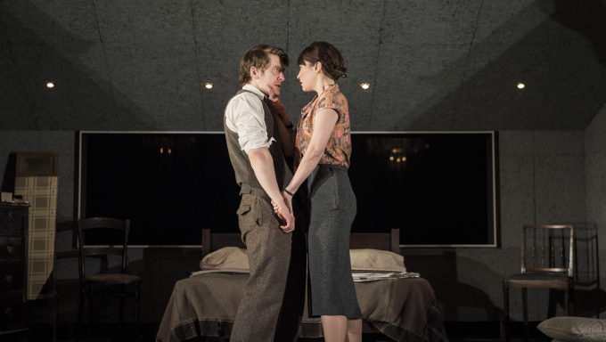 Vanessa Emme and Ian Toner in Annabelle Comyn's Look Back In Anger