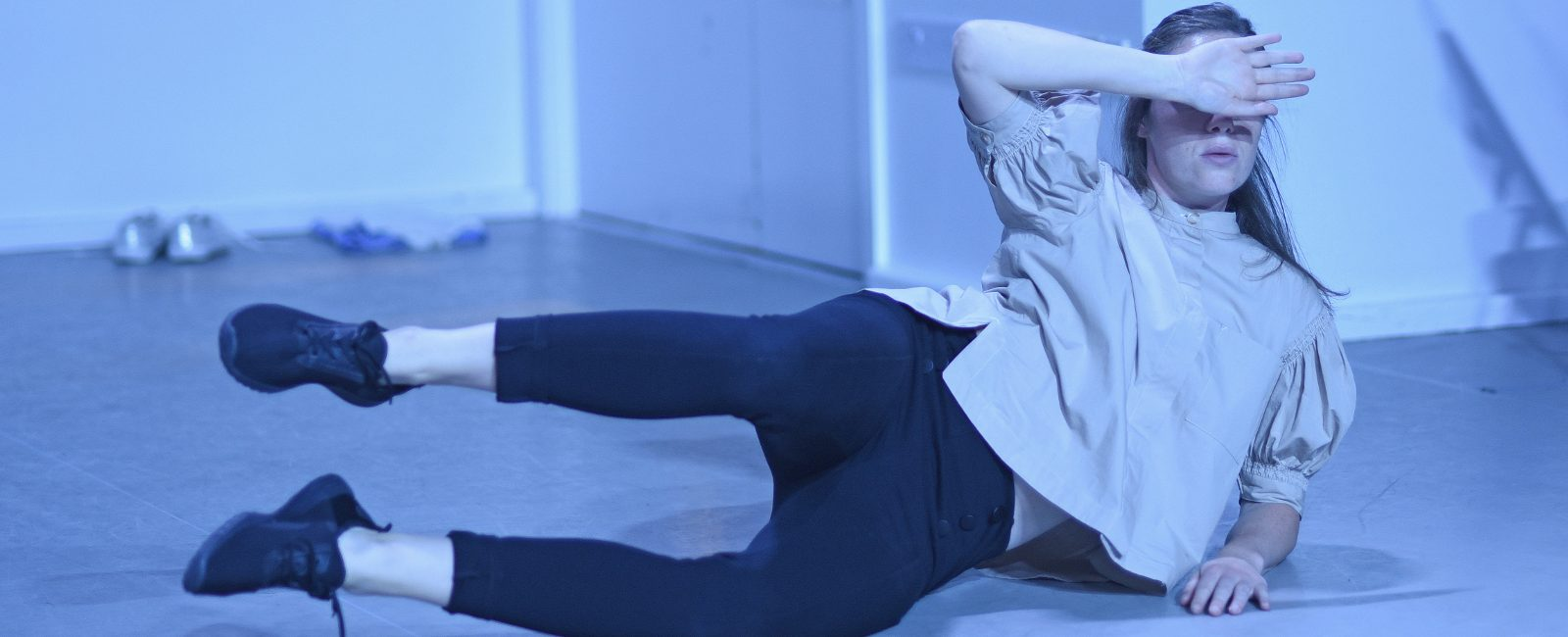 Dancer Sarah Ryan performs Áine Stapleton's Horrible Creature, a choreographed piece based on the life of Lucia Joyce