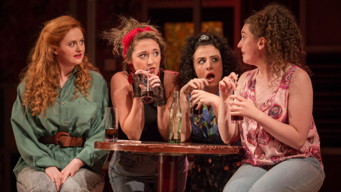 Photo from production of the Snapper at the Gate Theatre