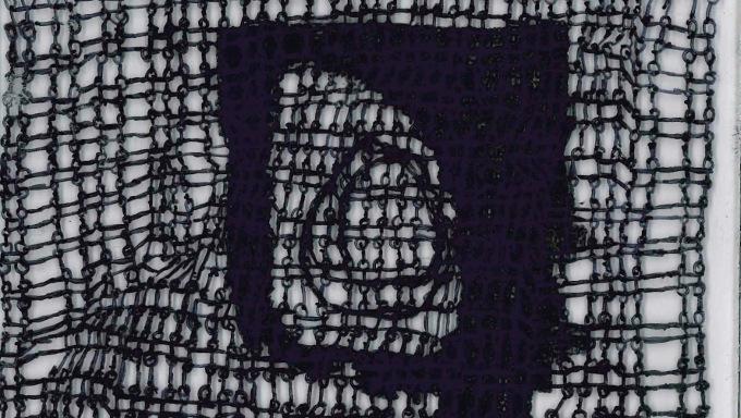 Detail: Ink on Perspex by Stephen Murray