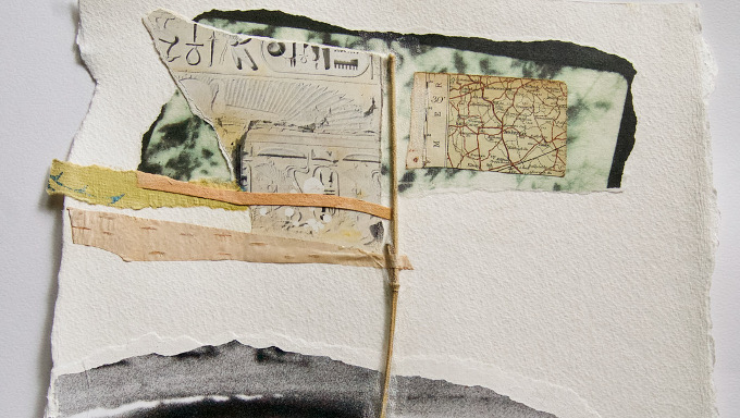 Detail of Upstream by Orla Callaghan