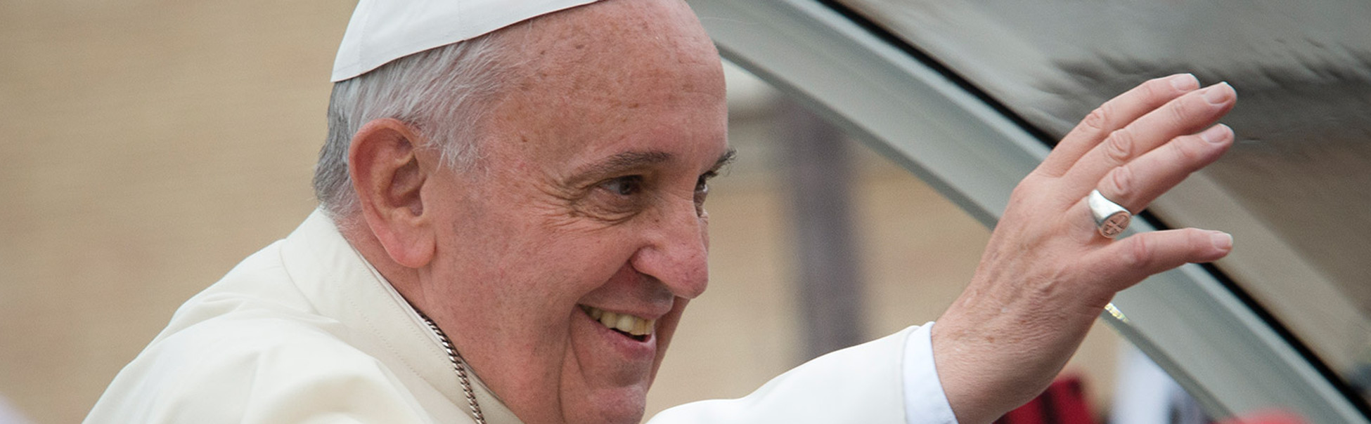 Pope Francis in his collaborative documentary with Wim Wenders