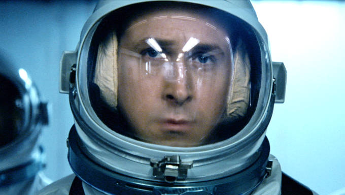 Ryan Gosling in First Man showing at IFI. Open Captioned screenings available