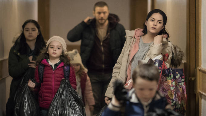 Rosie (Sarah Greene) and partner John Paul (Moe Dunford) in Paddy Breatnach's film about Dublin homeless crisis showing at IFI, Dublin