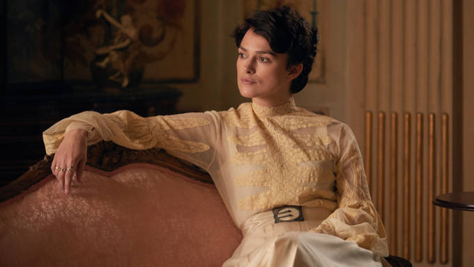 Colette: Sidone-Gabrielle Colette played by Keira Knightley.