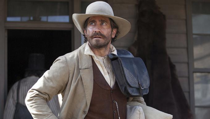 Jake Gyllenhaal as Mr Morris in The Sisters Brothers