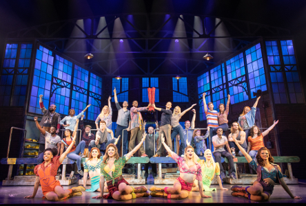 Theatre: Kinky Boots at Bord Gáis Energy Theatre (audio described, captioned and touch tour)