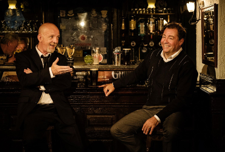 Theatre: Roddy Doyle's Two Pints at the Abbey Theatre (audio described, touch tour and captioned performance)