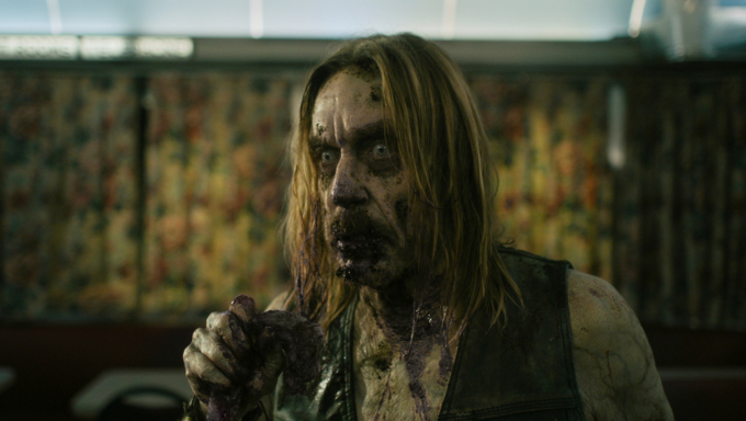 Iggy Pop stars in Jim Jarmusch's The Dead Don't Die (2019).