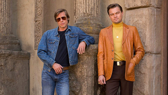 Leonardo DiCaprio and Brad Pitt in Quentin Tarantino's true-crime drama Once Upon a Time... in Hollywood.