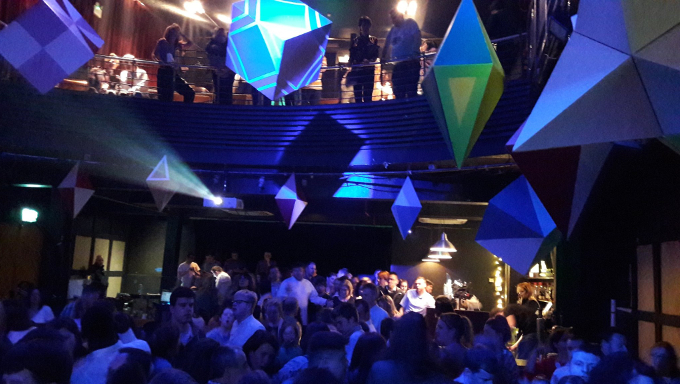 Bounce nightclub in full swing in the Button Factory as part of Dublin Dance Festival 2019.