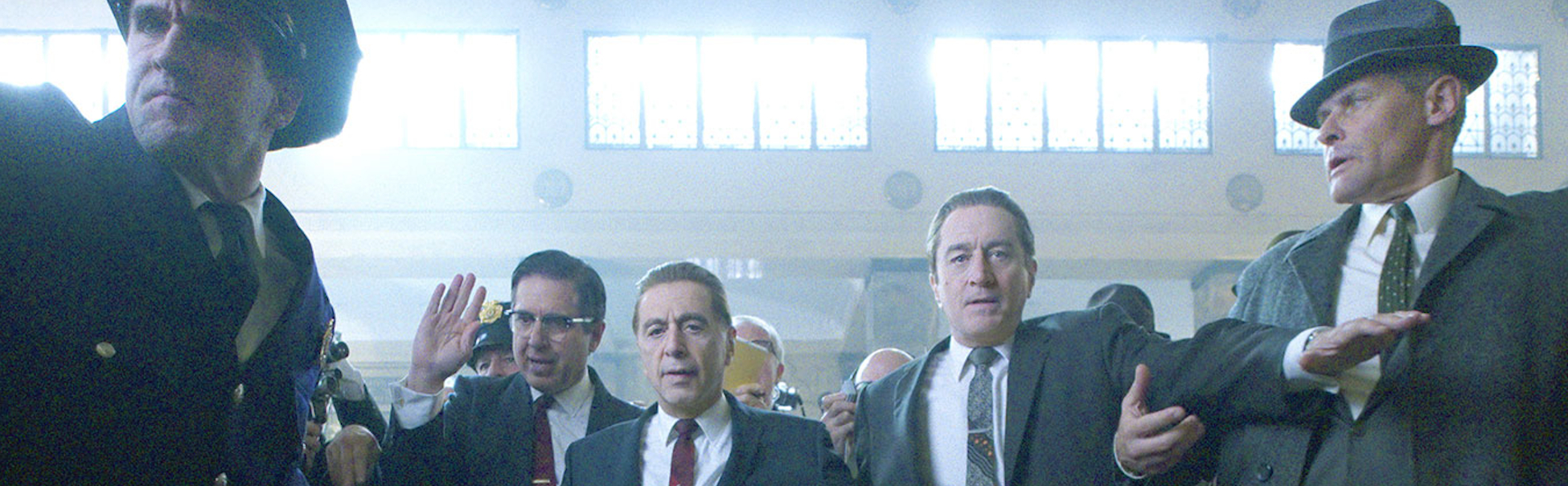 promotional image from the film The Irishman