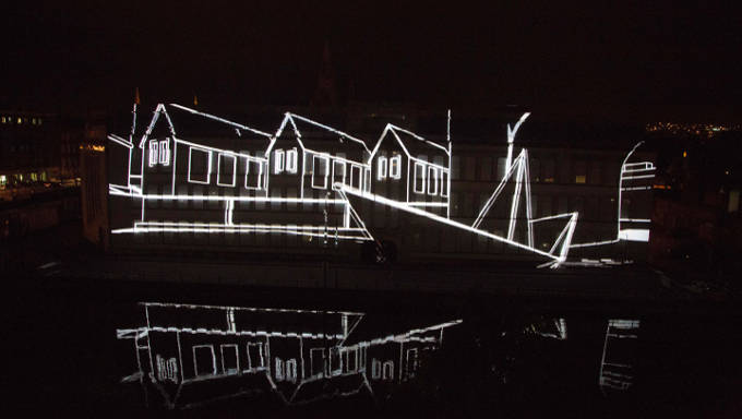 Ignite illuminates the College of Commerce in Cork for Culture Night 2015