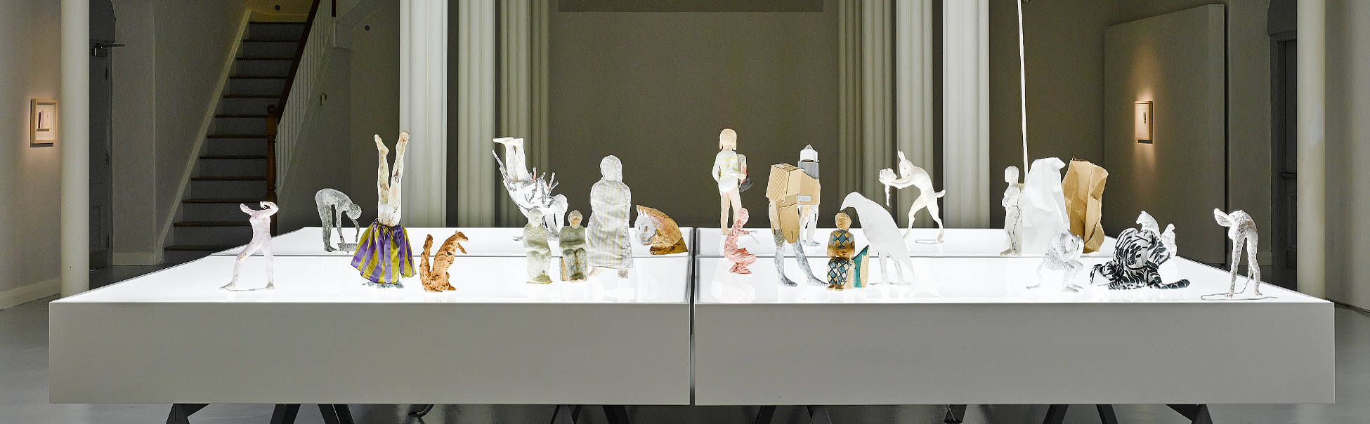 Installation view of My Minds i by Janet Mullarney. Photo Ros Kavanagh