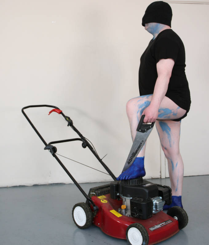 Sexy Lawn Mover Hugh O'Donnell 2012. Hugh was awarded a Studio Award in 2012
