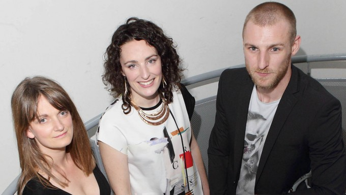 Orla Burke, Darragh O'Callaghan and Conor Madden- recipients of the new Arts + Disability Connect Scheme which was organised by the Arts Council and Arts & Disability Ireland, pictured here in The Project Arts Centre. Pic:Brian McEvoy