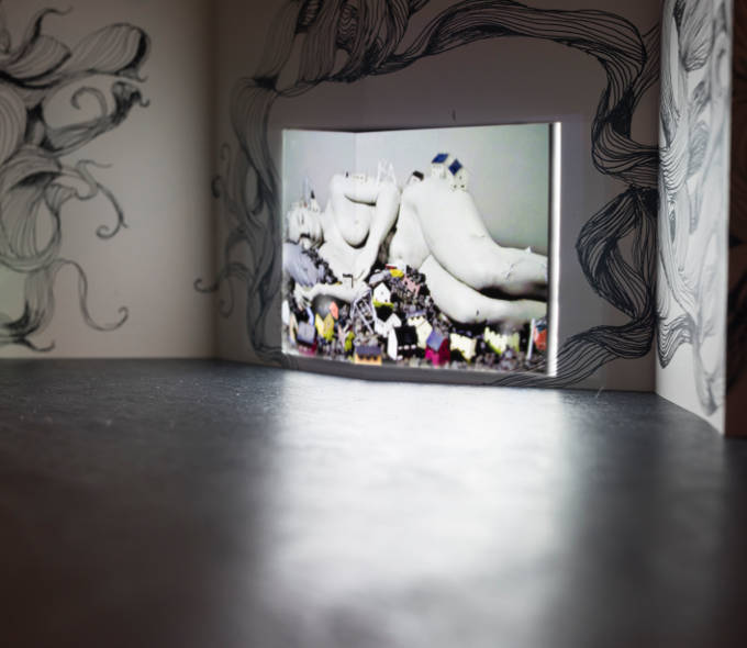 Aideen Barry, A Smouldering Flock, 2016. Photo Louis Haugh. Aideen will talk about Visual Arts in Ireland with Clíodna Ní Anluain and Gary Coyle at 14.15 on Easter Monday in Dublin Castle