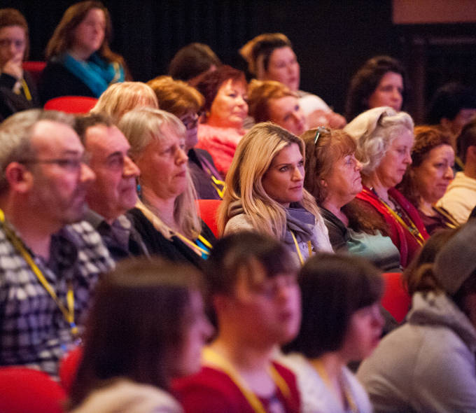 Audiences at Creative Connections in Galway 2016. Photo: Reg Gordon