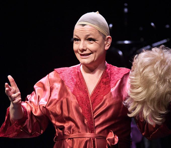Graeae Theatre. Signs of a Diva. Caroline Parker.