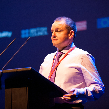 Pádraig Naughton, Creative Connections 2016