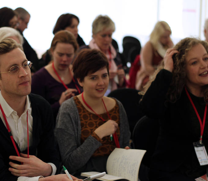 Delegates at Pathways to Practice Symposium, Cork 2012
