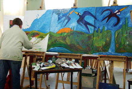The Supported Studio Sector – Working in Parallel or an Integral Part of Visual Art Practice?