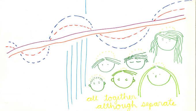 Doris & Mario Papalia described Vincent van Gogh's The Night Café with visual translation by Heidi Nagtegaal