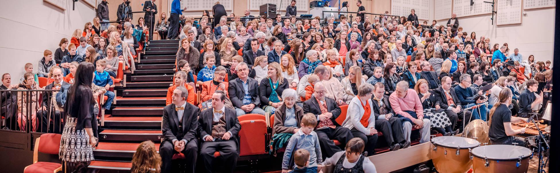 Image of audience at the screening of Silent Moves at Ballina Arts Centre November 2014
