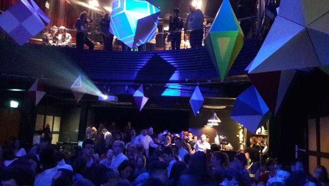 Bounce nightclub in full swing in the Button Factory as part of Dublin Dance Festival 2019.