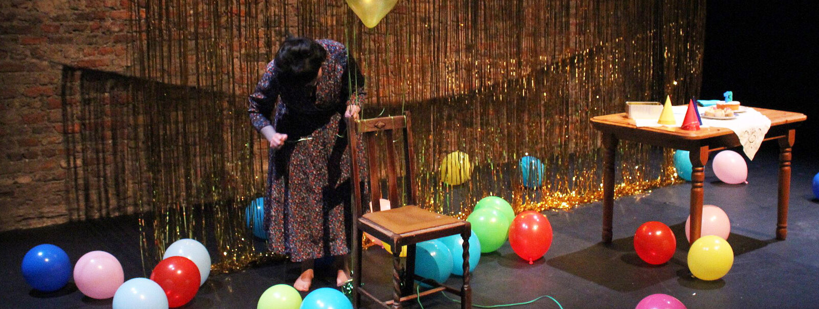 The Birthday Party by Áine O'Hara, at Scene and Heard Festival, Smock Alley Theatre, 2017. Photo by Carla Rogers