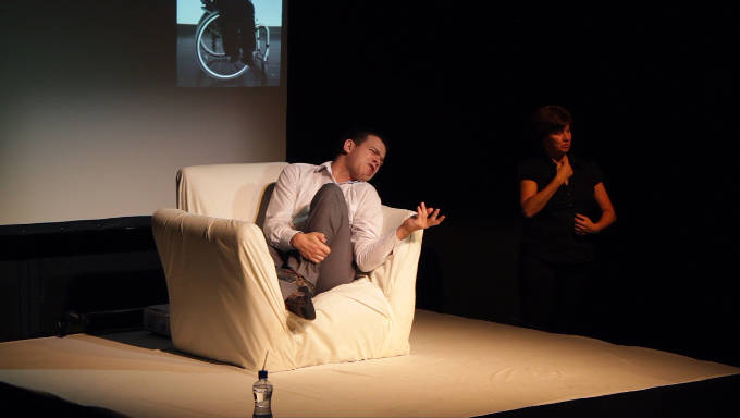 If These Spasms Could Speak by Robert Softley at Dublin Theatre Festival 2014