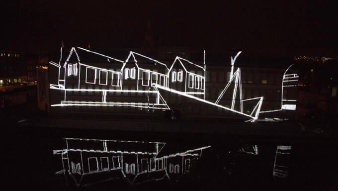 Ignite illuminates the College of Commerce in Cork for Culture Night 2015